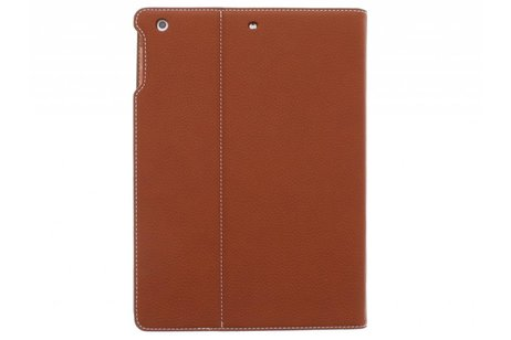 iPad Air hoesje - Bruine premium TPU tablethoes