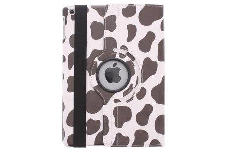 iPad Air hoesje - 360° draaibare koe design
