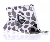 360° draaibare hoes koe design iPad Mini / 2 / 3