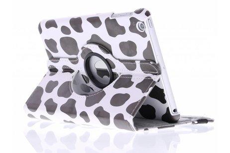 360° draaibare tablethoes met koe design voor de iPad Mini / 2 / 3