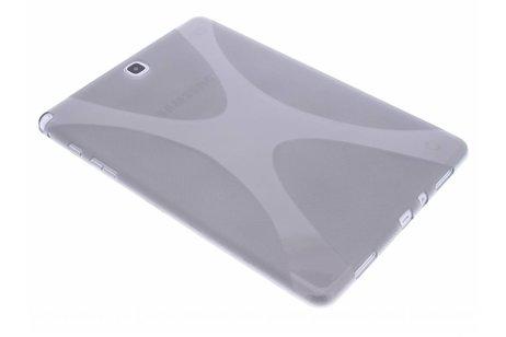 Samsung Galaxy Tab A 9.7 hoesje - Grijze X-line TPU hoes