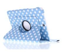 360° draaibare polka dot tablethoes Galaxy Tab A 9.7