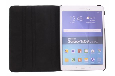 Samsung Galaxy Tab A 9.7 hoesje - Zwarte 360º draaibare krokodil