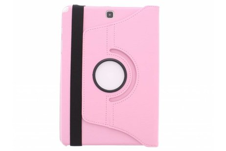 Samsung Galaxy Tab A 9.7 hoesje - Roze 360º draaibare tablethoes