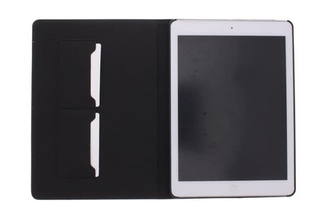 iPad Air hoesje - Bruine luxe leder tablethoes
