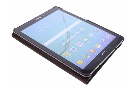Samsung Galaxy Tab S2 9.7 hoesje - Bruine 360° draaibare tablethoes