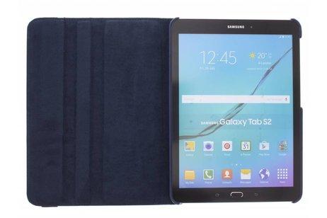 Samsung Galaxy Tab S2 9.7 hoesje - Donkerblauwe 360° draaibare tablethoes