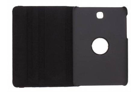 Samsung Galaxy Tab S2 8.0 hoesje - Zwarte 360° draaibare polka