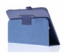 Donkerblauw effen tablethoes Samsung Galaxy Tab S2 8.0
