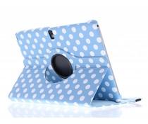 360° draaibare polka dot tablethoes Galaxy Tab Pro 10.1