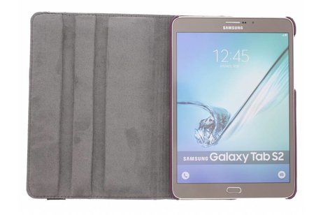 Samsung Galaxy Tab S2 8.0 hoesje - 360° draaibare strepen design