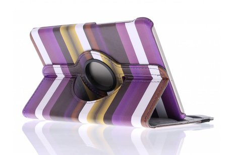 Samsung Galaxy Tab S2 8.0 hoesje - 360° draaibare strepen design