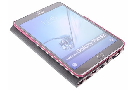 Samsung Galaxy Tab S2 8.0 hoesje - 360° draaibare chevron design
