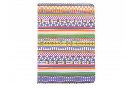 Samsung Galaxy Tab S2 8.0 hoesje - 360° draaibare aztec design