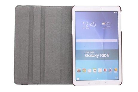 Samsung Galaxy Tab E 9.6 hoesje - 360° draaibare aztec design