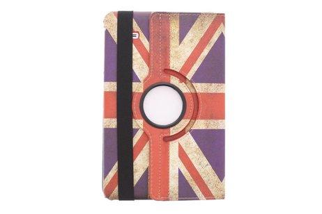 Samsung Galaxy Tab E 9.6 hoesje - 360° draaibare Britse vlag