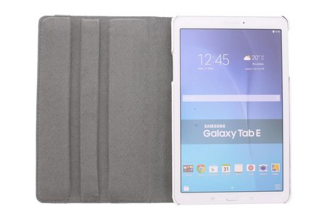 Samsung Galaxy Tab E 9.6 hoesje - 360° draaibare happy design