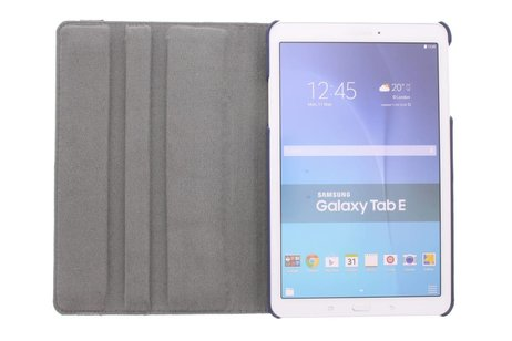 Samsung Galaxy Tab E 9.6 hoesje - 360° draaibare vogel design