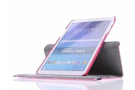 Samsung Galaxy Tab E 9.6 hoesje - 360° draaibare design tablethoes