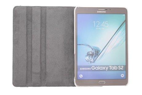Samsung Galaxy Tab S2 8.0 hoesje - 360º draaibare koe design