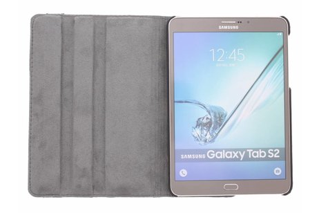 Samsung Galaxy Tab S2 8.0 hoesje - 360° draaibare plant design