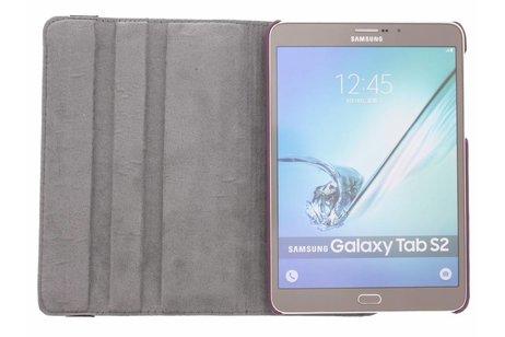 Samsung Galaxy Tab S2 8.0 hoesje - 360° draaibare rozen design