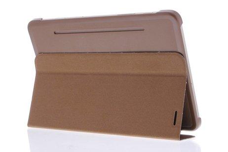 Samsung Galaxy Tab S2 8.0 hoesje - Bruine Book Cover voor
