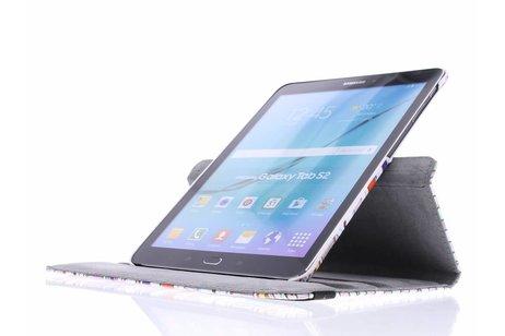 Samsung Galaxy Tab S2 9.7 hoesje - 360° draaibare aztec design