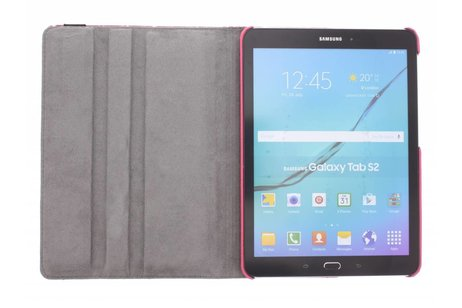Samsung Galaxy Tab S2 9.7 hoesje - 360° draaibare strepen design