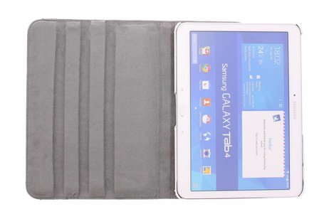 Samsung Galaxy Tab 4 10.1 hoesje - 360º draaibare happy design