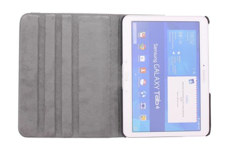 Samsung Galaxy Tab 4 10.1 hoesje - 360° draaibare tijger design