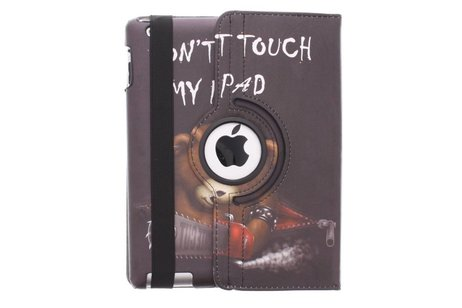 360º draaibare don't touch design tablethoes voor de iPad 2 / 3 / 4