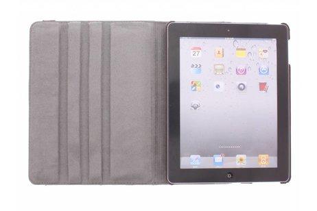 360º draaibare tijger design tablethoes voor de iPad 2 / 3 / 4