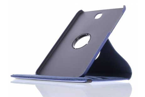 Samsung Galaxy Tab S2 8.0 hoesje - Blauwe 360° draaibare tablethoes