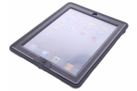 Zwart defender tablethoes met strap voor de iPad 2 / 3 / 4