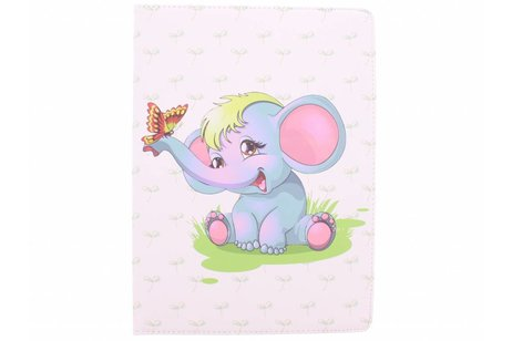 iPad Pro 12.9 hoesje - 360º draaibare baby olifant