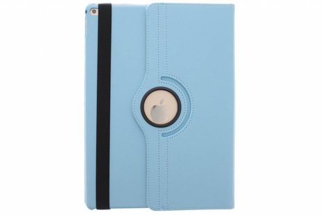 iPad Pro 12.9 hoesje - Turquoise 360º draaibare tablethoes