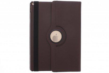 iPad Pro 12.9 hoesje - Bruine 360º draaibare tablethoes