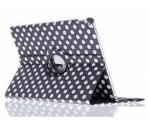 360º draaibare polka dot tablethoes iPad Pro 12.9