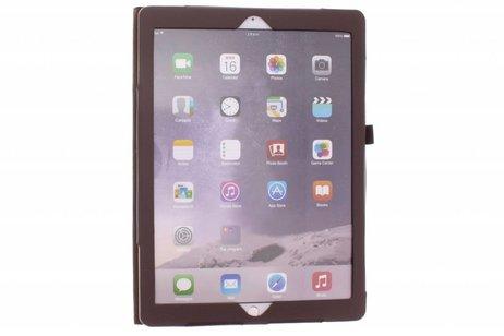 iPad Pro 12.9 hoesje - Bruine effen tablethoes voor