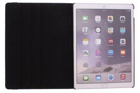 iPad Pro 12.9 hoesje - Zwarte 360º draaibare krokodil