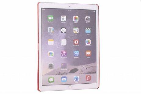 iPad Pro 12.9 hoesje - Rode 360º draaibare krokodil