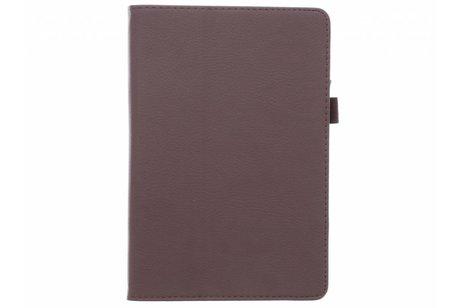 iPad Mini 4 hoesje - Bruine effen tablethoes voor