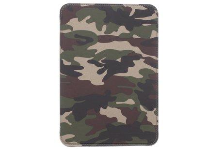 Groene army defender booktype hoes voor de iPad Mini / 2 / 3