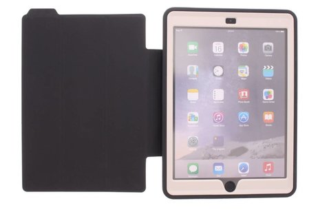 iPad Air 2 hoesje - Beige defender protect case