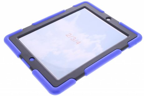 Blauwe extreme protection army case voor de iPad 2 / 3 / 4
