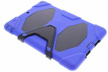 iPad Air hoesje - Blauwe extreme protection army