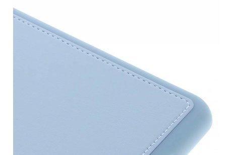 Blauwe lederen TPU tablethoes voor de iPad Mini / 2 / 3