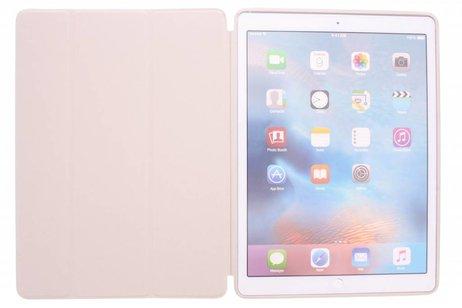 iPad Pro 12.9 hoesje - Beige Book Cover voor