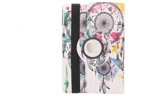 iPad Mini 4 hoesje - 360° draaibare dromenvanger design